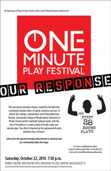 One Minute Play Festival