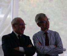During the Italian Consulate talk.
