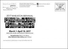 2017 Biennial mailer (back)